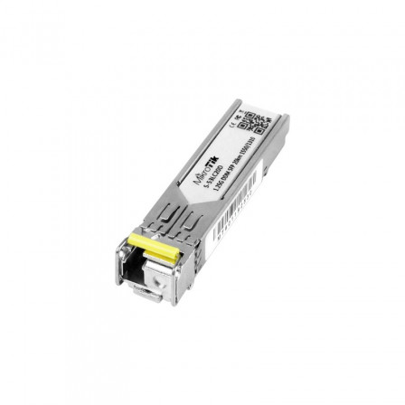 GBIC-SFP-S-53LC20D-1.25G-SINGLE-MODE-20KM-T1550NM-DUPLEX-AMARELO---MIKROTIK-0