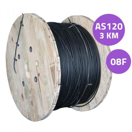 cabo-de-fibra-optica-as120-08fo-cfoa-sm-asu-120-08fo-nr-3km