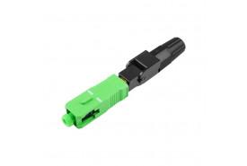 conector-optico-de-campo-fast-rapido-sc-apc-verde