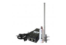 KIT-PROVEDOR-WIRELESS-EXTERNO-OMNIDIRECIONAL-COM-RÁDIO-UBIQUITI-2,4GHZ-E-FONTE-0