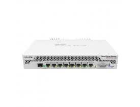 CLOUD CORE ROUTER CCR1009-7G-1C-PC / 1GHZ / 7 PORTAS - MIKROTIK