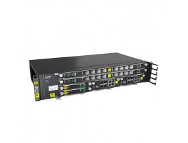 OLT FIBERHOME AN5516-04 DC POWER (SEM PLACA EPON/GPON) COM 2 SLOTS (SEM FONTE RETIFICADORA)