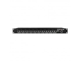 PATCH PANEL POE 10 PORTAS FAST ETHERNET EVOLUTION 48V GERENCIÁVEL - VOLT