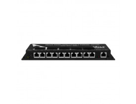 PATCH PANEL POE 5 PORTAS FAST EVOLUTION GERENCIAVEL 24V - VOLT