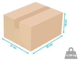 Caixa para transporte ConectWi - 50x31x19cm - 4,126kg