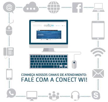 Fale com a Conect Wi