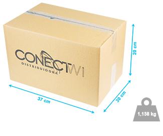 Caixa de transporte ConectWi - 37x30x20cm - 1,158kg